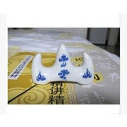 Porcelain <em>Brush</em> Rest Mountain Shaped 7*4*2cm