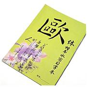 Ou Style <em>Magic</em> Water Calligraphy Practice Book Reusable Paper