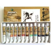 Maries <em>Chinese</em> <em>Painting</em> Colour Large(12ML Tube) 12 Colour Set