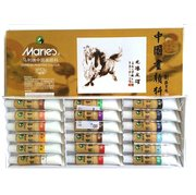 Maries Chinese Painting Colour Set Large _ 18 Colours