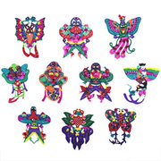 <em>Chinese</em> Assorted Handmade Paper Cut: Kites