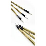 BRH0133 yellow spot bamboo writing brush