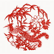 <em>Chinese</em> Paper Cut: Phoenix NO.2