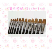 G18208 Maries brand single long gouache writing brush of wolf hair NO.8