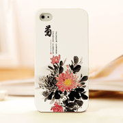 mobile phone shell of chrysanthemum