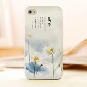 mobile phone shell of lotus