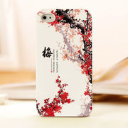 mobile phone shell of plum blossoms