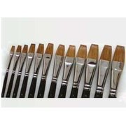 G18201 Maries brand single long gouache writing <em>brush</em> of wolf hair NO.1