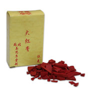 Chinese Mineral Colour Chips 5g Red