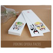 BM007 A Set of 30 exquisite bookmarks of Peking Opera Masks