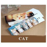 BM009 30 exquisite bookmarks of cats