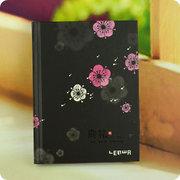 Black Hardback Notebook 144*107mm