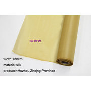 SLK009 Meter of Chinese Processed Silk for Painting or Calligraphy Deep Antique Width138cm