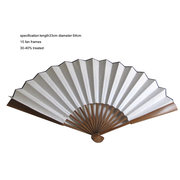 XPf003  rice paper fan