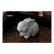 ZD004 Porcelain rabbit of the 12 animals of the <em>Chinese</em> zodiac