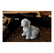 ZD011  Porcelain dog of the 12 animals of the <em>Chinese</em> zodiac