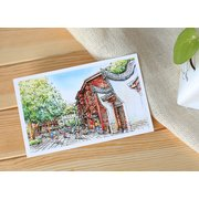 Fuzhou City Set of 10 Postcards PSC042