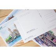 Fuzhou Skeches Set of 11 Postcards PSC042