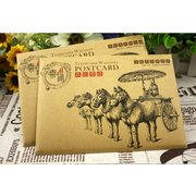 Qin Terracotta Warriors and Horses Sketch Postcards Set of 8  PSC001