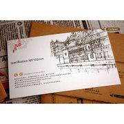 Shanghai Sketch Set of 8 Postcards PSC007