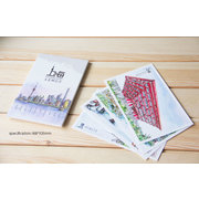 Shanghai in Watercolous Set of 10 Postcards PSC022