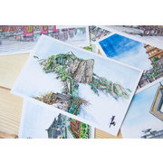 Sketch of XI′AN Postcards Set of 12 PSC003