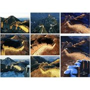 The Great Wall Set of 8 Post cards PSC017
