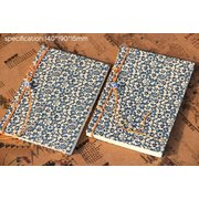 Thread Bound Cloth Cover  Notebook: Clover NB018