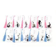 Chinese Painting Style Bookmarks Set with Tussles:Ladies
