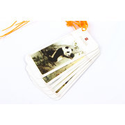 Chinse Painting Style Bookmarks Set with Tussles: Panda